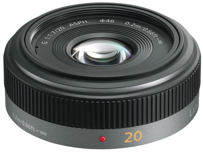 <b>LUMIX G 20mm F1.7 ASPH.</b>