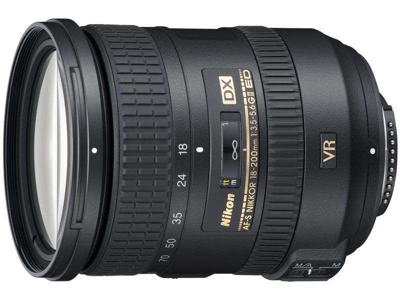 <b>AF-S DX NIKKOR 18-200mm F3.5-5.6 G ED VR II</b>