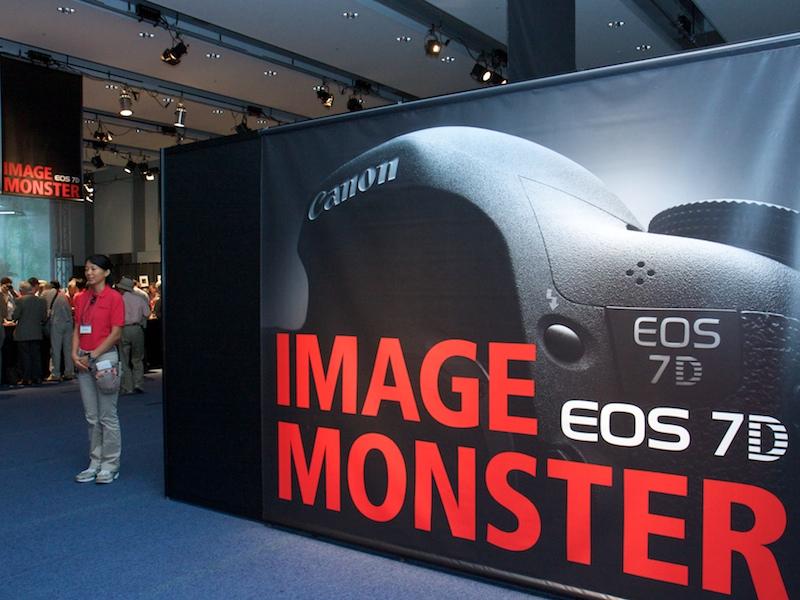 <b>入口では巨大な「IMAGE MONSTER」が出迎える</b>