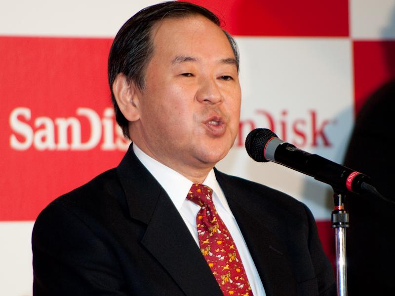<b>サンディスク株式会社代表取締役社長の小池敦義氏</b>