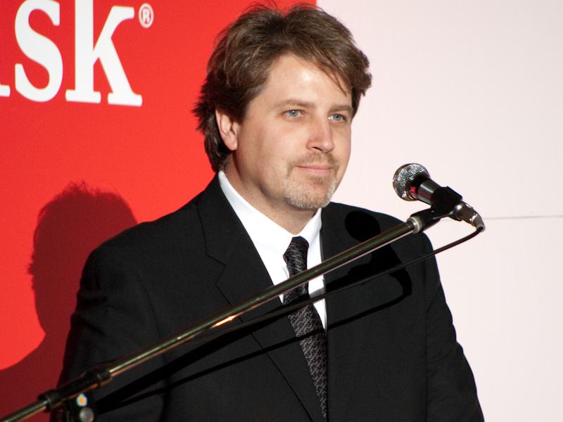 <b>サンディスクコーポレーション リテールプロダクトマーケティング バイスプレジデントのエリック・ボーン氏</b>