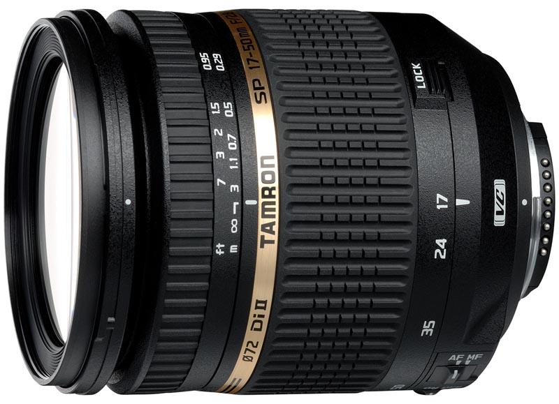 <b>SP AF 17-50mm F2.8 XR Di II VC(Model B005NII)</b>