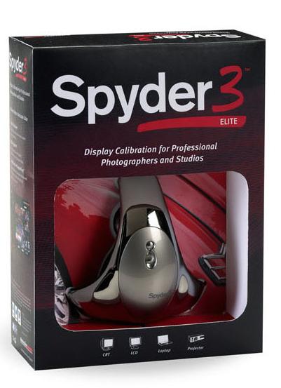 <STRONG>Spyder3Studio SRに含まれるSpyder3Elite</STRONG>