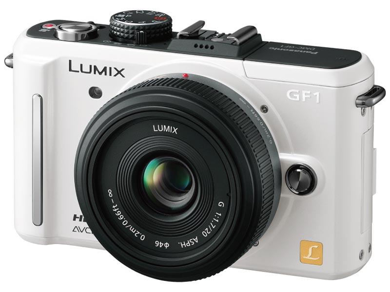 <b>LUMIX G 20mm F1.7 ASPH.が付属するLUMIX DMC-GF1Cレンズキット</b>