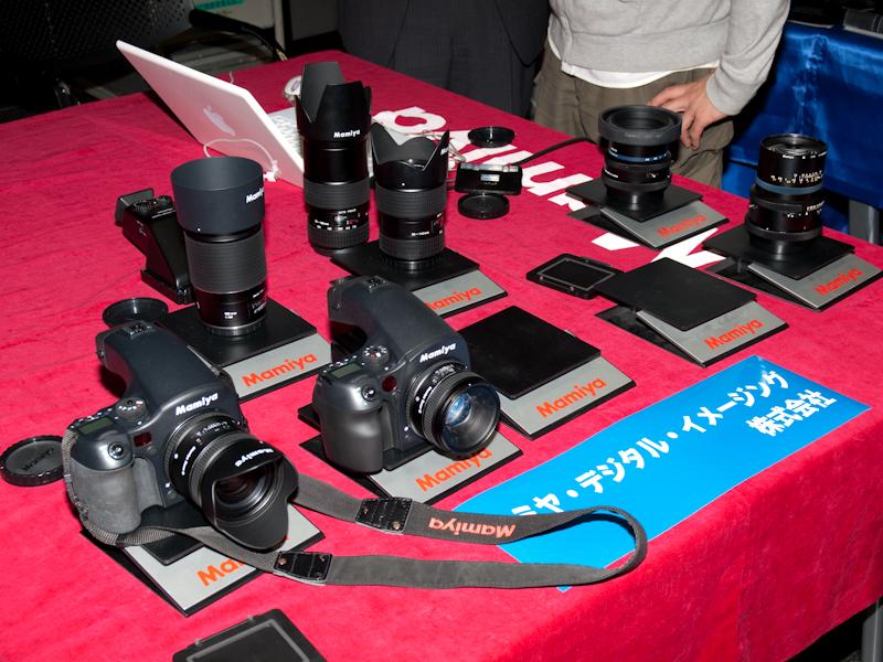 <b>マミヤ・デジタル・イメージングは中判カメラ「マミヤ645DF」を初めて展示</b>