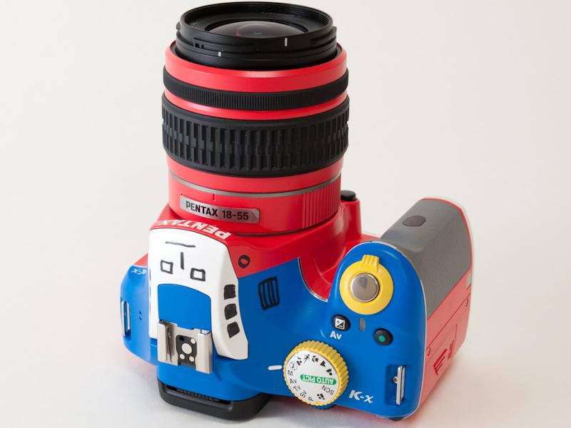 <b>DA L 18-55mm F3.5-5.6 AL(K-xレッドに付属)</b>
