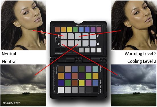 <b>クリエイティブ補正ターゲットでは、カラーバランスの微調整を行なえる</b>