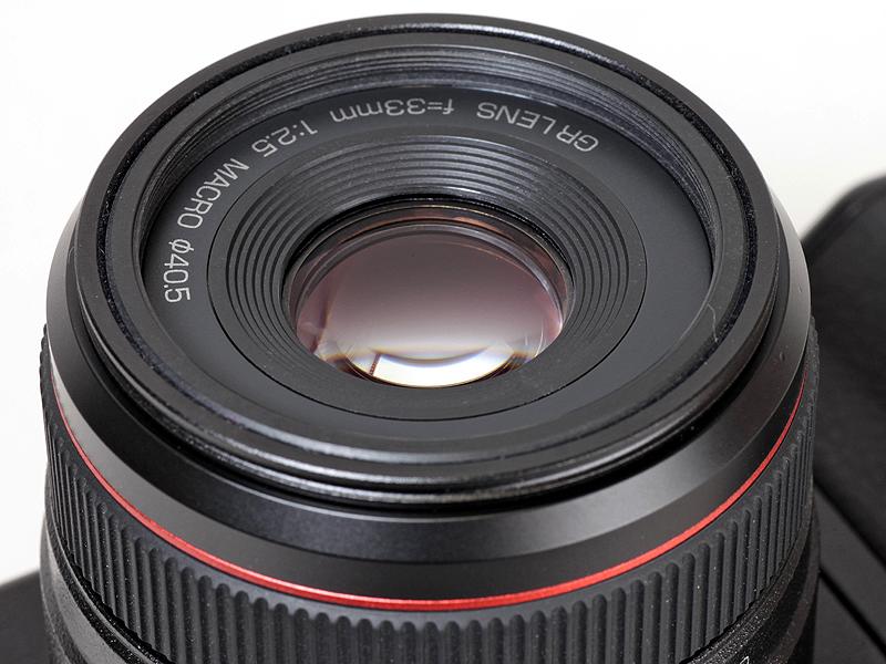 <b>GR LENS A12 50mm F2.5 Macroは「GRレンズ」を採用</b>