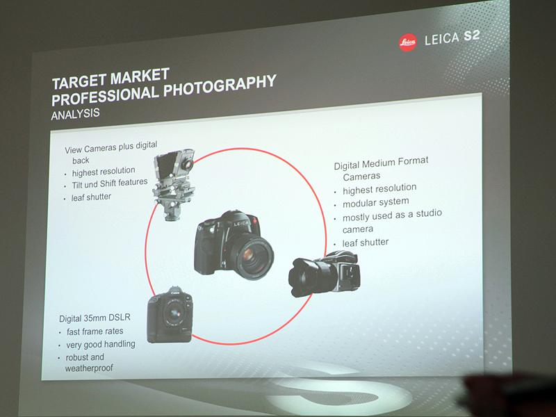 <b>S2は、従来のプロ向けカメラの長所を兼ね備えているとする</b>