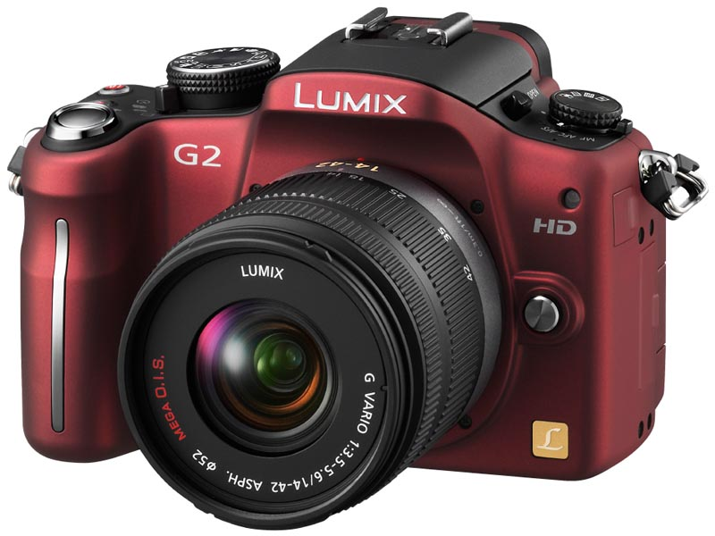 <b>LUMIX DMC-G2(コンフォートレッド)</b>