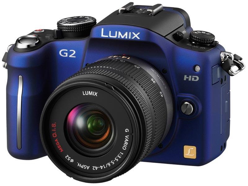 <b>LUMIX DMC-G2(コンフォートブルー)</b>