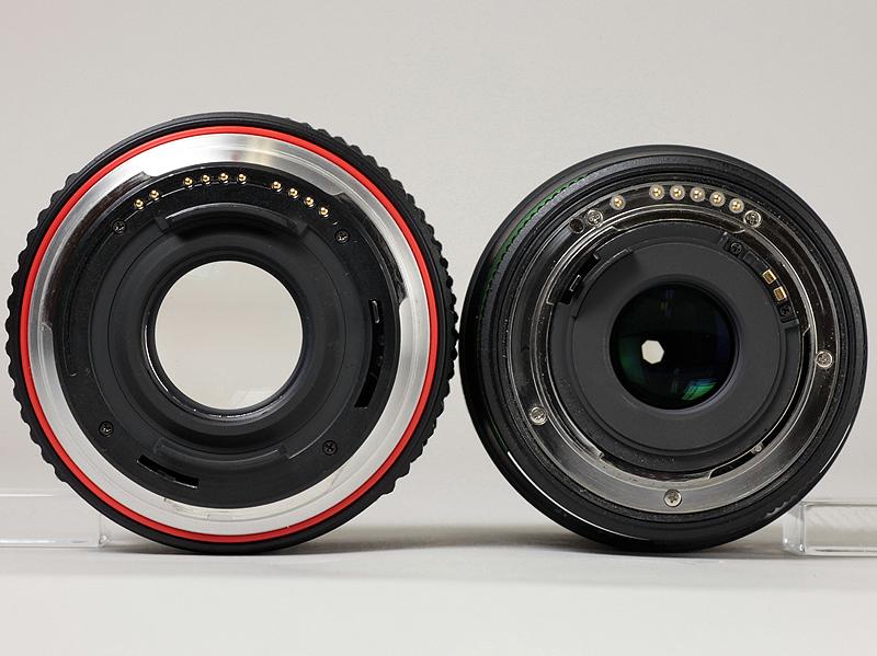 <b>DA 17-70mm F4 AL [IF] SDM(右)との比較</b>