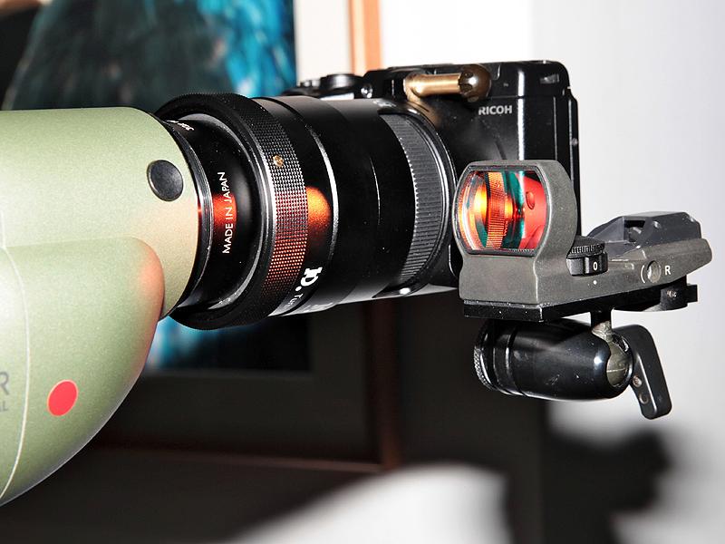 <b>BR-GXR50には照準器を取り付けできるステーを備える</b>