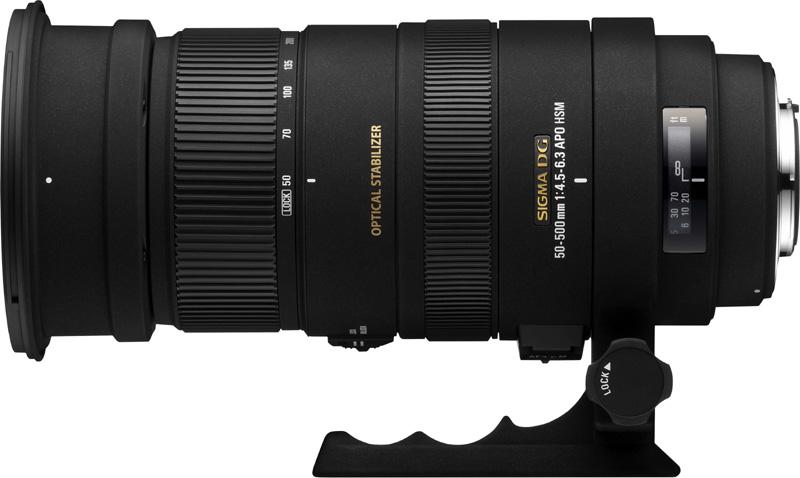 <b>APO 50-500mm F4.5-6.3 DG OS HSM</b>
