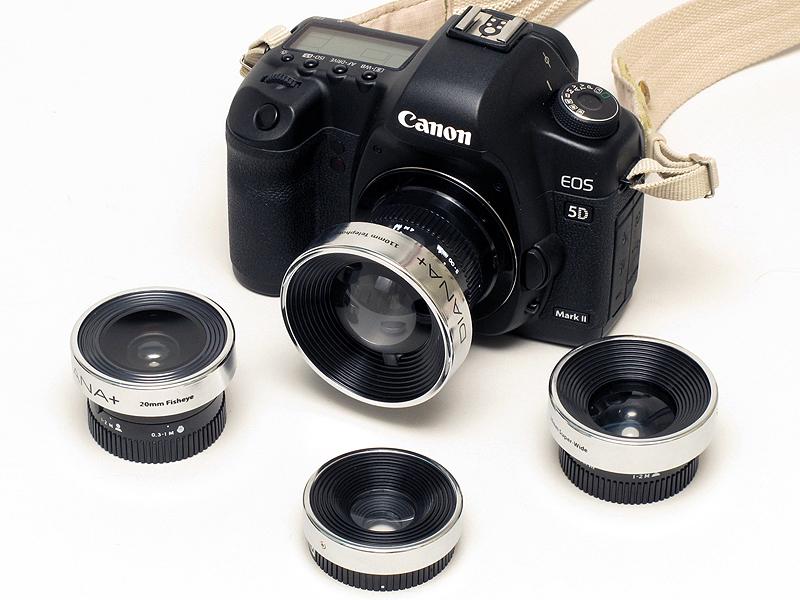 <b>「Diana Lens Adaptor」はトイカメラのレンズを装着できるマウントアダプター</b>