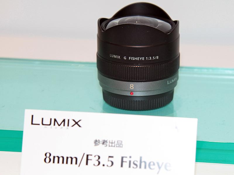 <b>LUMIX G FISHEYE 8mm F3.5(モックアップ)</b>