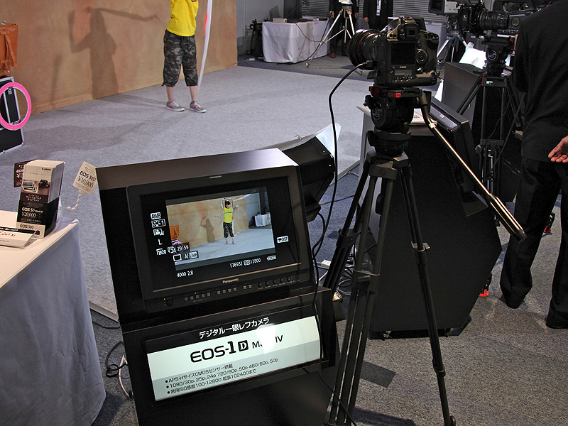 <b>外部モニターに映しての撮影体験も可能</b>