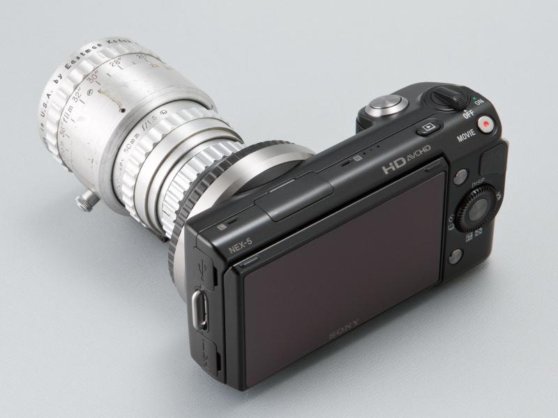 <b>シネエクタノン50mm F1.6は、オークションサイトで2〜3万円程度の値頃感のあるレンズだ</b>