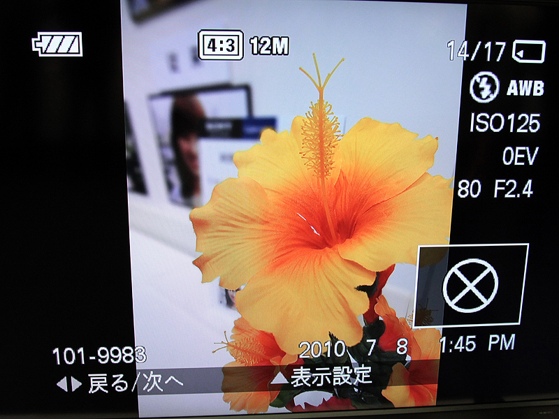 <b>背景ぼかし機能も新搭載。左は通常撮影、右は同機能を適用した画像</b>