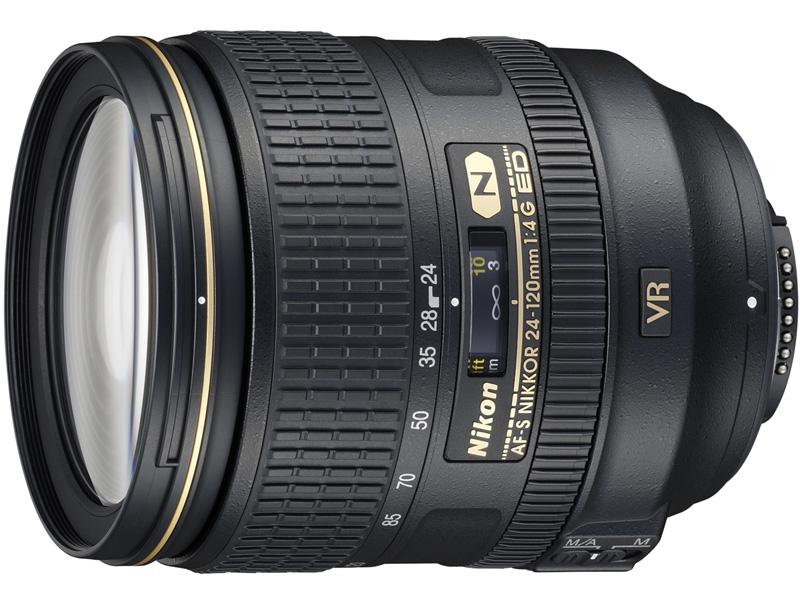 <b>AF-S NIKKOR 24-120mm F4 G ED VR</b>