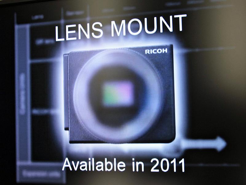 <b>レンズマウントユニットは2011年に登場予定</b>