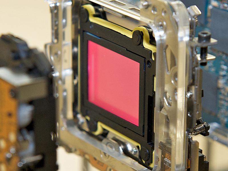 <b>新開発の撮像素子ユニット</b>