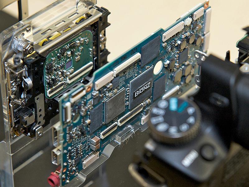 <b>α55の画像処理エンジン「BIONZ」</b>