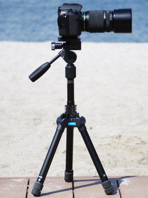 <b>最低高350mmでカメラを設置したところ</b>
