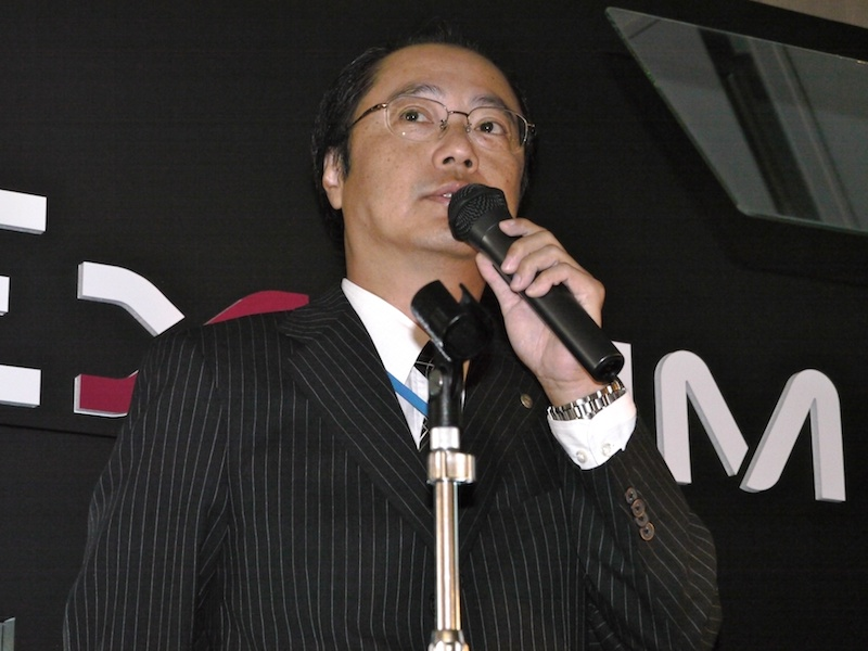 <b>QV事業部長の中山仁氏</b>