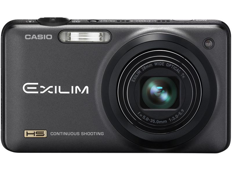 <b>HIGH SPEED EXILIM EX-ZR10。写真のブラックに加え、シルバーもラインナップ。店頭予想価格は4万円前後の見込み</b>