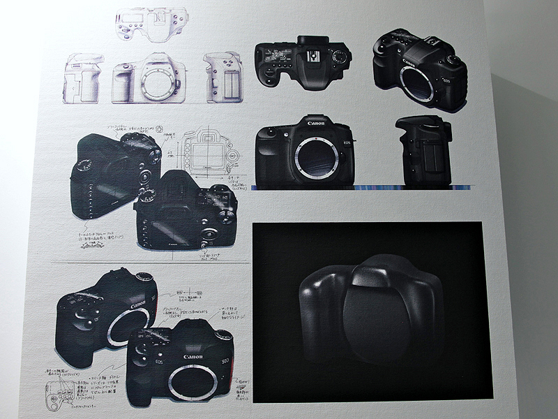<b>EOS 50Dのデザインスケッチ</b>