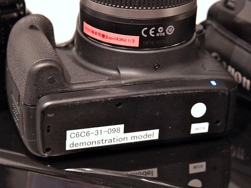 <b>既存のカメラをベースに無線充電やWi-Fi対応の改造を施してある</b>