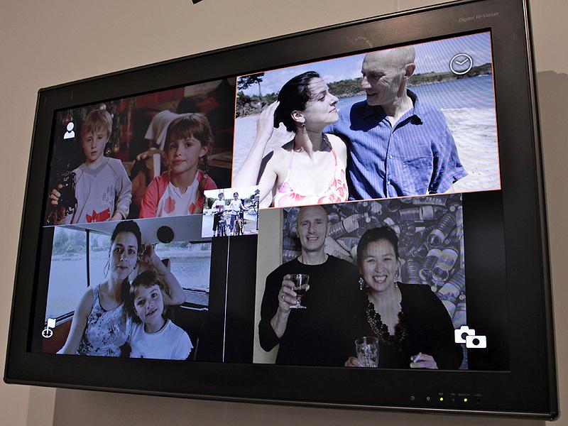 <b>クロスメディアステーションの画面表示例</b>