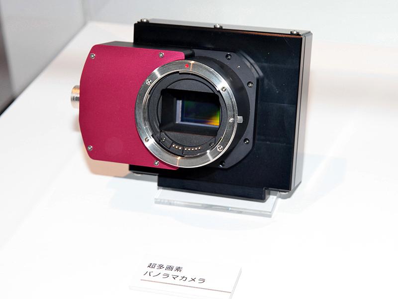 <b>約1億2,000万画素のCMOSセンサーとそれを使用したカメラ</b>