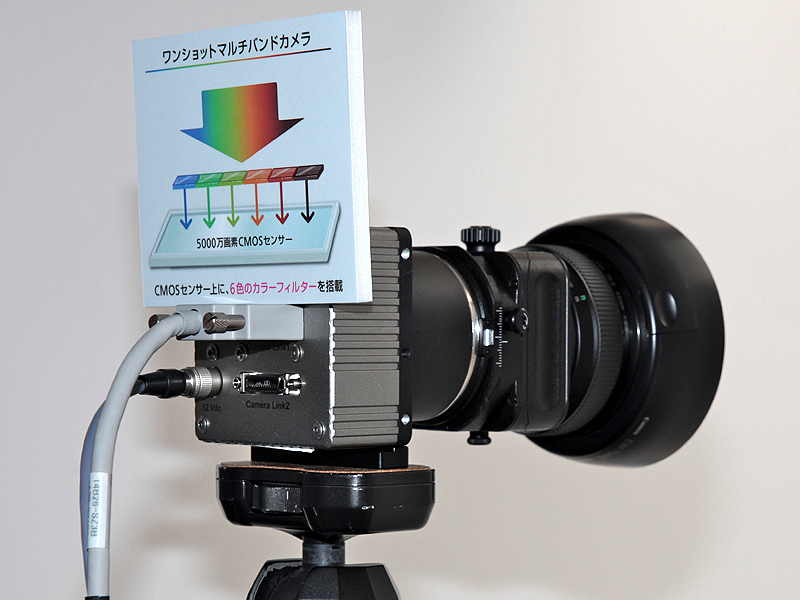 <b>ワンショットマルチバンドカメラ</b>