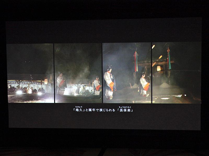 <b>伊藤氏の写真作品(左)と動画作品(右)</b>