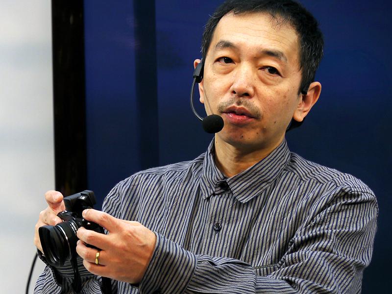 <b>森脇章彦氏によるセミナーも多くの人が聞き入っていた</b>