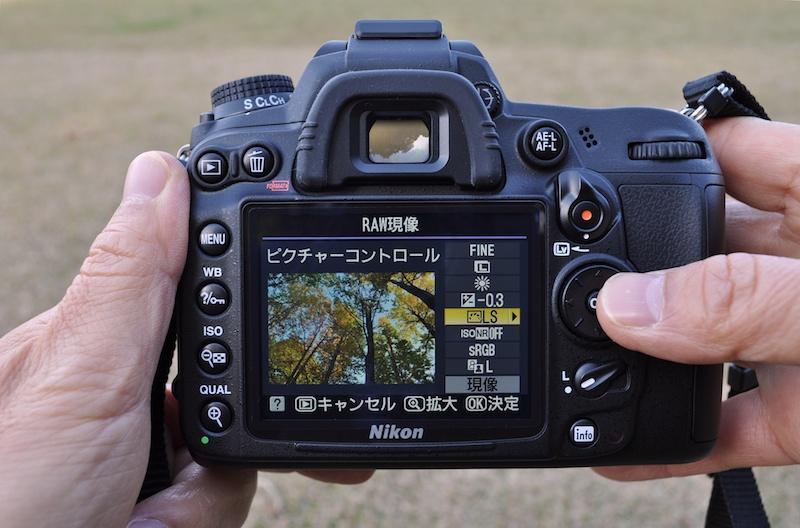 <b>D7000のカメラ内RAW現像機能。今後も使っていきたいと思う</b>