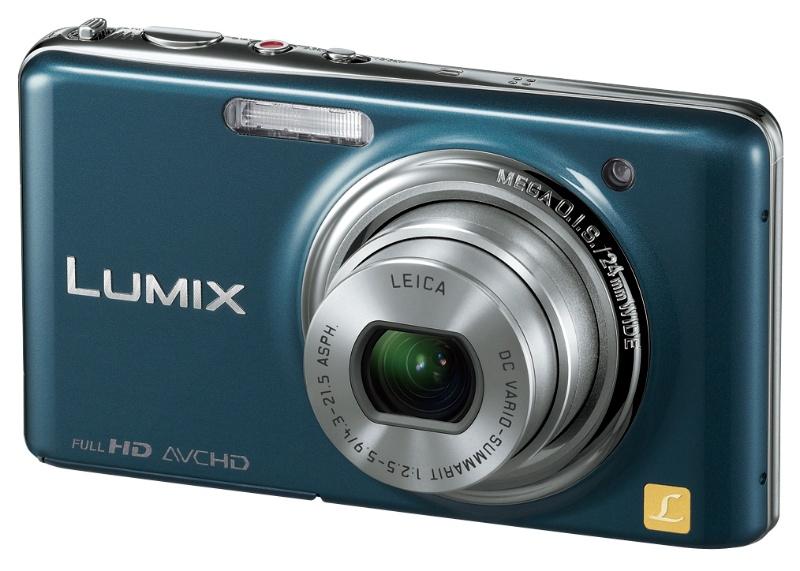 <b>LUMIX DMC-FX77(スエードブルー)</b>