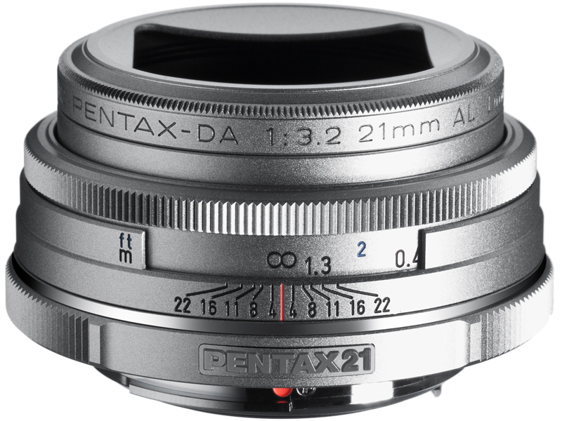 <b>DA 21mm F3.2 AL Limited Silver</b>