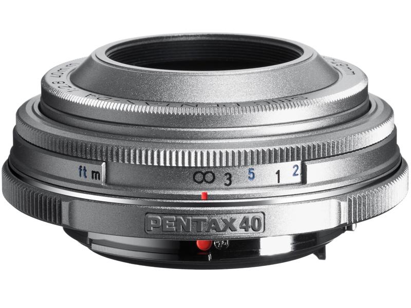<b>DA 40mm F2.8 Limited Silver</b>