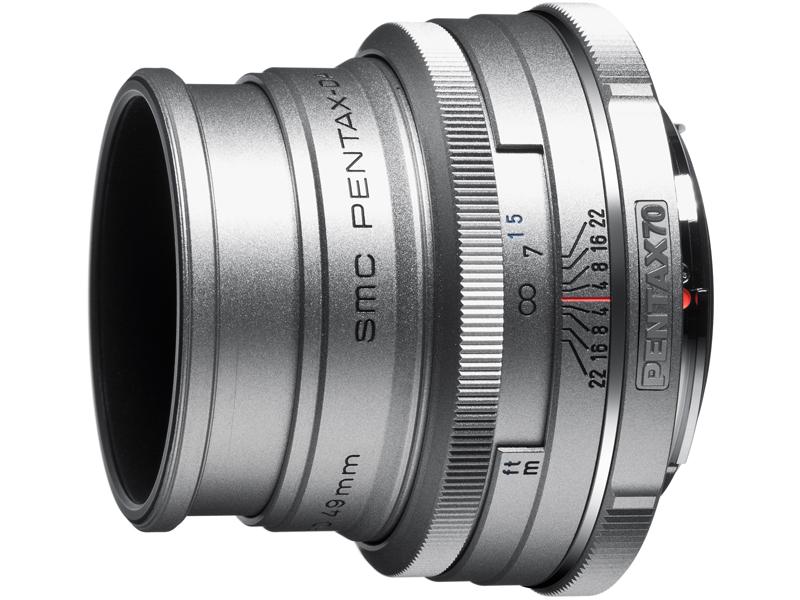 <b>DA 70mm F2.4 Limited Silver</b>