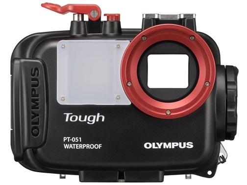 <b>オプションの防水プロテクター「PT-051」(2万6,250円)</b>