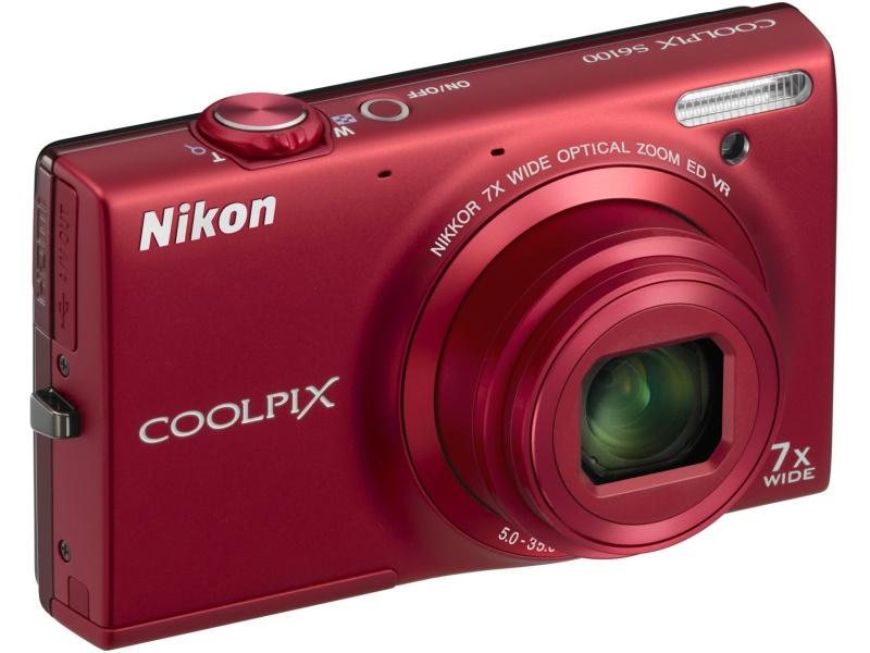 <b>COOLPIX S6100(スーパーレッド)</b>