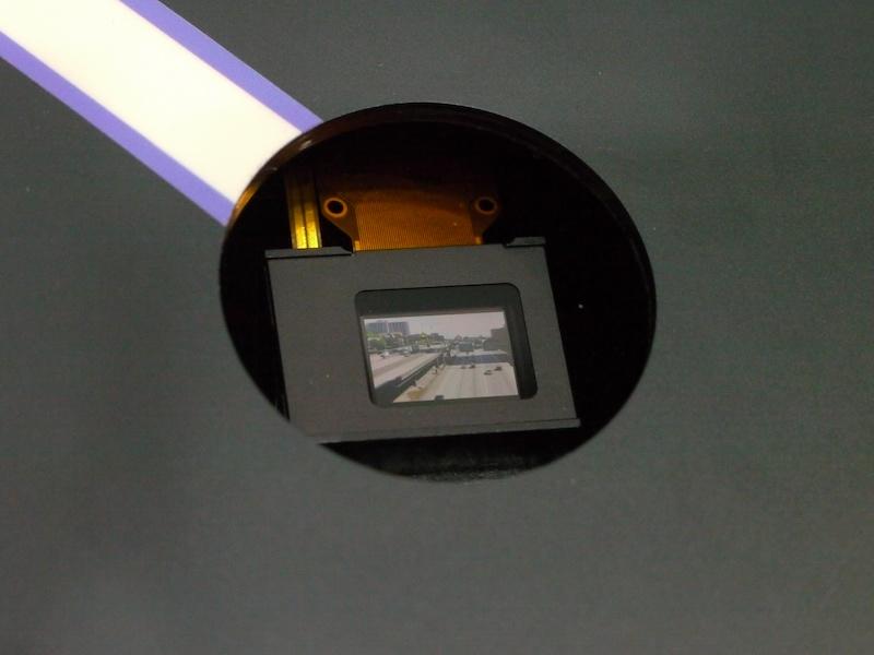 <b>液晶パネル。解像度は1,024×768ピクセル</b>