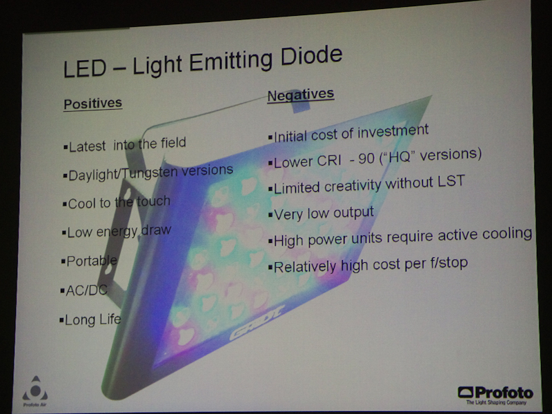 <b>LEDの特性</b>