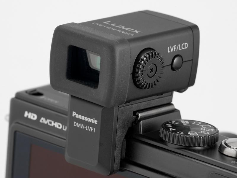 <b>【DMC-LX5】別売のDMW-LVF1を装着。解像度が物足りない</b>