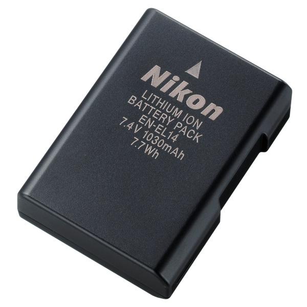 <b>リチウムイオン充電池のEN-EL14</b>