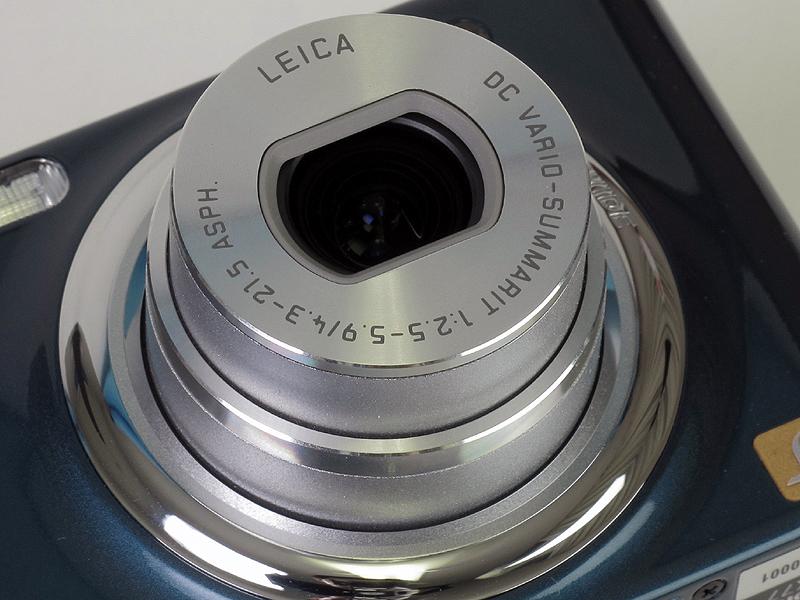 <b>レンズはライカブランドの5倍ズーム</b>