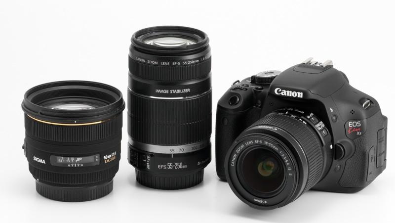 <b>EOS Kiss X5とEF-S 18-55mm F3.5-5.6 IS II、EF-S 55-250mm F4-5.6 IS、シグマ50mm F1.4 EX DG HSM</b>